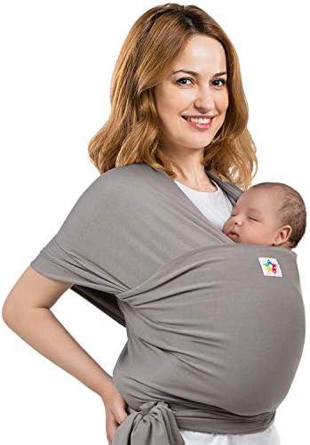 Baby Wrap Carrier Premium Cotton Ergonomic Wraps for Toddler Newborn Infant Child Front Hip product image