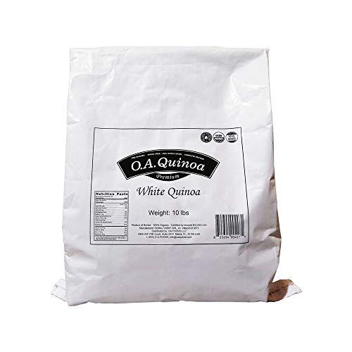 OA QUINOA   ORGANIC ROYAL QUINOA (White, 10 Lb)