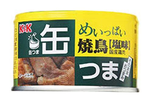 国分グループ本社 缶つま めいっぱい焼鳥 塩味 135g