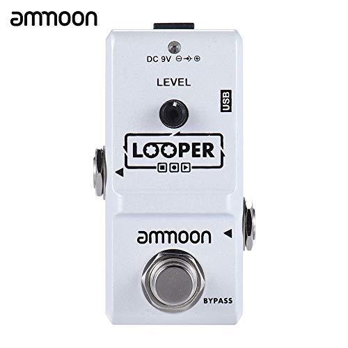 Effektpedal AP-09 Nano-Serie Loop-E-Gitarren-Effekt-Pedal-Looper True Bypass Unbegrenzte Overdubs Musikinstrumente & DJ-Equipment ( Color : Weiß )