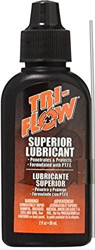 Tri-Flow, 2 OZ Squeeze Bottle, Lubricant with Teflon