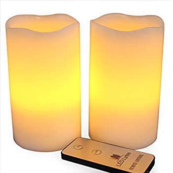 LED Lytes Battery Powered Flameless Candles with Remote