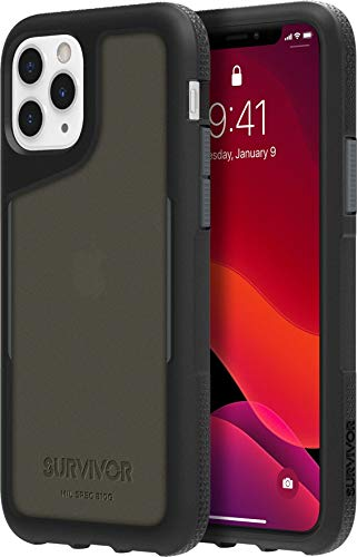 Griffin Survivor Endurance beschermhoes Apple iPhone, iPhone 11 Pro, zwart/grijs