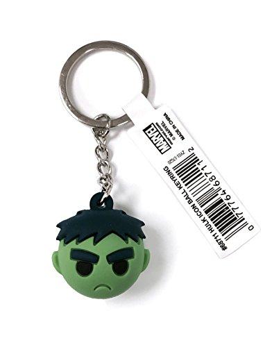 Marvel Hulk Icon Ball Key Ring Key Accessory Multi-colored, 3'