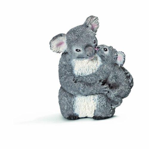 Schleich - Figura Koala Hembra con cría (14677)