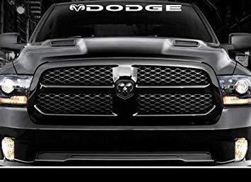 SUPERSTICKI kompatibel f眉r Dodge Windshield 36