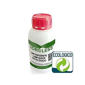 Detergente Limpiador Antimoho - Idroless: Sin Disolventes, sin Cloro, ecológico (1 litro). Limpia manchas de humedad y hongos en paredes y techo