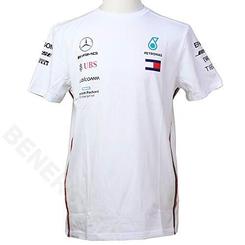 Mercedes-AMG Petronas Motorsport Mercancía Oficial de Fórmula 1 Equipo Camiseta - Blanco