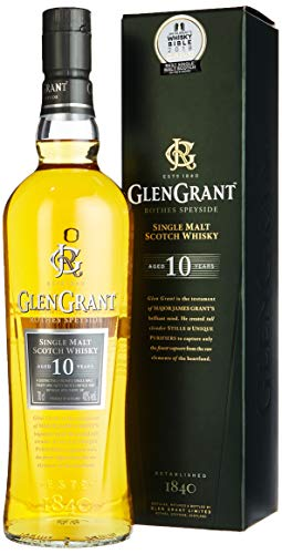 Glen Grant 10 Jahre Single Malt Scotch Whisky (1 x 0.7 l)