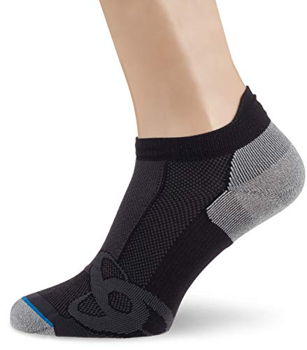 Odlo Socks Low Light, Black-Grey Melange, 36-38