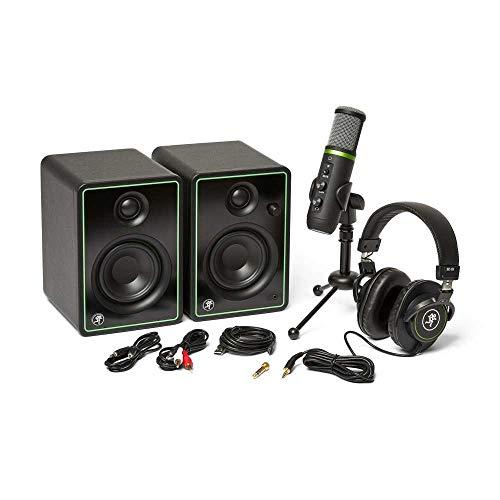 Mackie Creator Bundle con monitores CR3-X + micrófono condensador EM-USB + auriculares MC-100