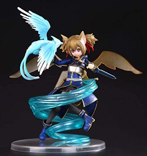 Anime Spada Art Online Figure Divertenti Cavalieri Shirik Ayano Kiko Silikano PVC Figure Collection Modello Toy Doll Regalo di Natale