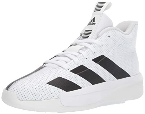 adidas Men's Pro Next 2019 Basketball Shoe, White/Black/Crystal White, 12.5 M US