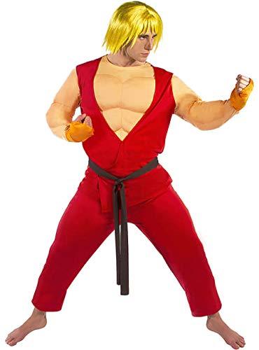 Funidelia Disfraz de Ken - Street Fighter