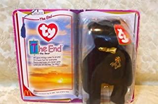 McDonald's ty Teenie Beanie Black Bear,The End,1999,NIP