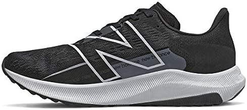 New Balance Men's FuelCell Propel V2 Running Shoe, Black/White, 10.5 Wide