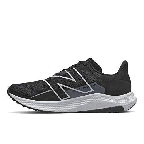 New Balance - FuelCell Propel V2 - Zapatillas de correr para hombre, negro (Negro/Blanco), 40.5 EU