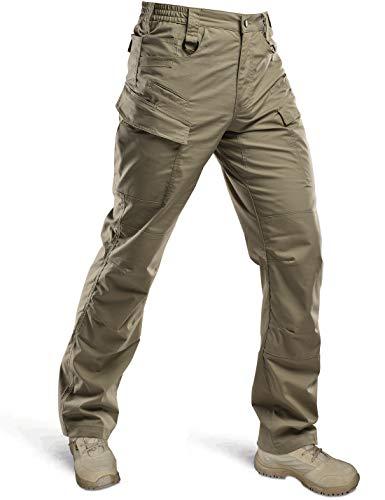 HARD LAND Men's Lightweight Tactical Pants Waterproof...
