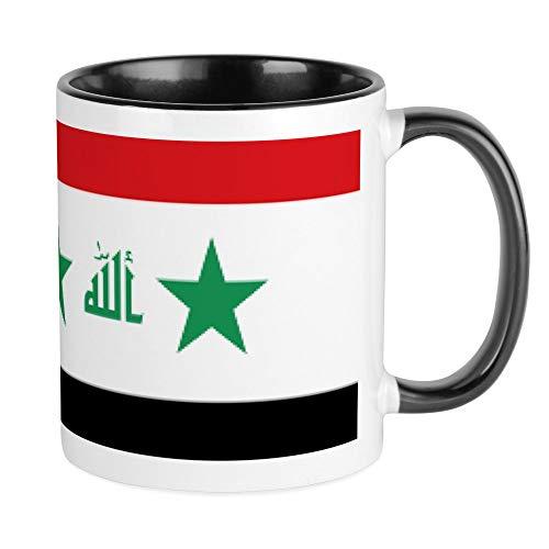 CafePress - Flagge Irak Tasse - Einzigartige Kaffeetasse, Kaffeetasse, Teetasse