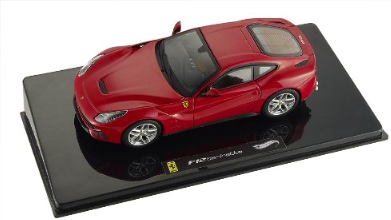 Hot Wheels 1 43 Scale diecast  X5499 Ferrari F12 Berlinetta red