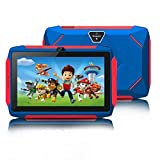 Kids Tablet for Learning, Android 8.1 Tablet for Kids, 7 inch 1024x600 HD IPS Screen, 1GB RAM+16GB ROM, with WiFi, Bluetooth, Dual Camera, Parental Control & 1.8GHz Quad-core Processor-Blue