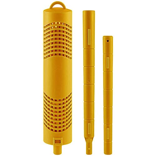 PQZATX Mineral Purifier Stick, Spa-Wasserpatronenfilter für und Pool (Gelb)