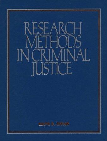 Research Methods in Criminal Justice: Exploring Alternate Pathways
