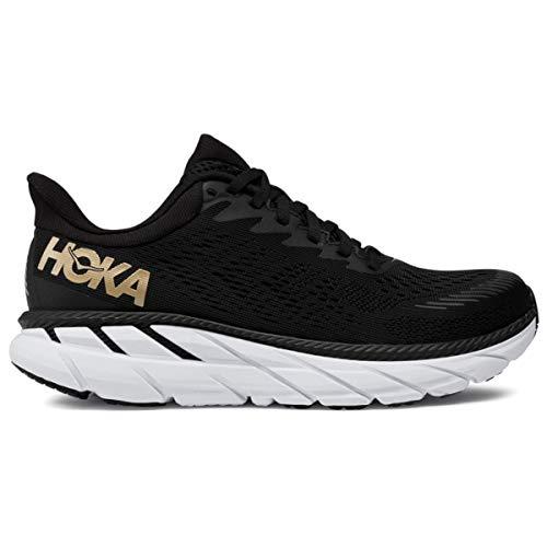 HOKA Basket Running Femme Clifton 7 Noir - 37 1/3-37 1/3 - Noir
