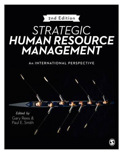 Strategic Human Resource Management: An international perspective