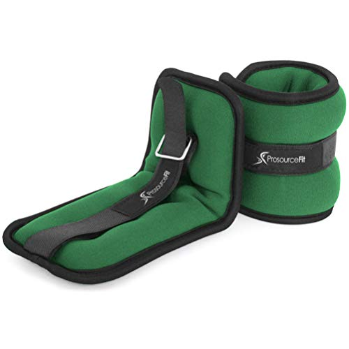 ProsourceFit Ankle Wrist Weights 1 lb. - Green