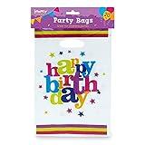 jaunty partyware Bolsas de Feliz cumpleaños con ebooks de Fiesta para Fiestas Paquete de 20