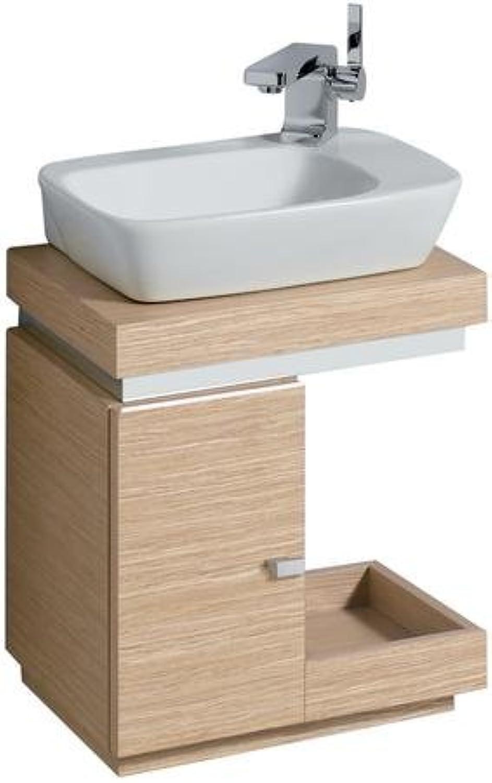Keramag Silk Handwaschbecken Unterschrank 816440 40x44x29cm, Eiche
