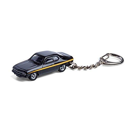 corpus delicti :: Sleutelhanger met Opel Manta A Black Magic modelauto voor alle autofans en oldtimerfans