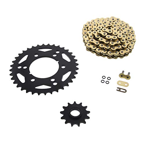 NICHE Drive Sprocket Chain Combo for Yamaha Warrior 350 Front 13 Rear 40 Tooth 520V O-Ring 98 Links