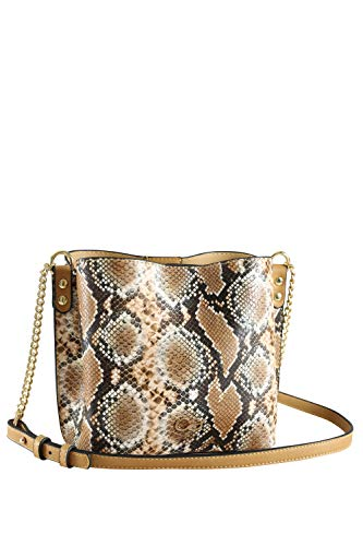 Collezione alessandro stijlvolle schoudertas Dorisa met moderne snake print 19 cm x 18 cm x 11 cm