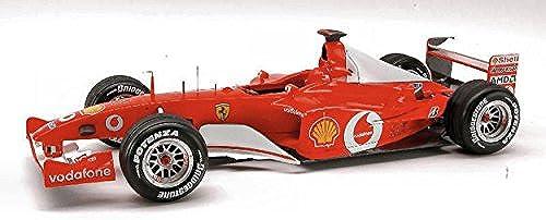 Hot Wheels HWN2076 Ferrari M.Schumacher 2002 Elite 1 18 MODELLINO DIE CAST Model kompatibel mit