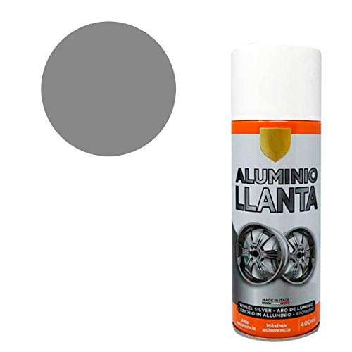 Pintura Spray Aluminio Llante 400 Ml