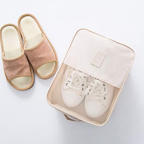 Nieuwe draagbare reisschoenen Organisatorzak Waterdichte schoenhoes Stofdichte schoenentas voor dames en heren Schoenen Opbergpakket 23 * 15 * 30cm