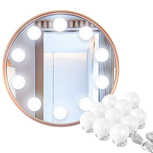Hollywood Make-up Vanity Mirror Light, 60 Leds 9.8Ft Baño Vanity Light Kit para DIY Cosmético Make Up Mirror