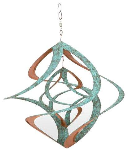 Red Carpet Studios Cosmix Copper & Patina Finished Wind Sculpture