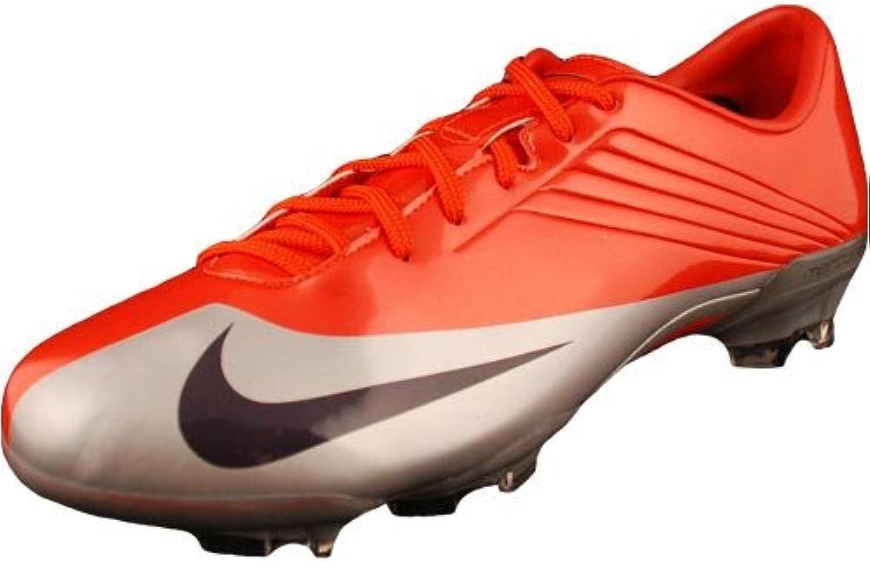 Nike Mercurial Talaria V FG Mens Soccer Cleats Max orange Abyss-Metallic Silver Mens shoes 354551-851-12