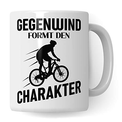 Fahrrad Tasse Geschenk, lustige Fahrrad Geschenke, Geschenkidee Fahrradfahrer für Fahrradliebhaber, Mountainbike Rennrad Spruch Becher, Kaffeetasse Fahrräder Radfahren