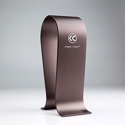 【Copper Colour】 アルミ合金製 高級ヘッドフォンスタンド ブラケット ヘッドセットフレーム ディスプレイ...