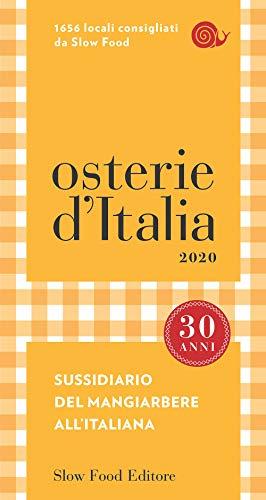 Osterie d'Italia 2020: Sussidiario del mangiarbere all'italiana