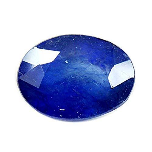 55Carat Certified Blue Sapphire Neelam Loose Gemsone 2.5 Ratti 2.3 Carat Natural Nilam at Wholesale Price
