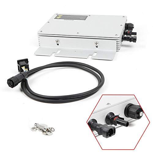 Microinverter HaroldDol WVC-300W Wireless Solar PV Inverter Modulwechselrichter IP65 Waterproof Netzgekoppelt Inverter Digital Wechselrichter