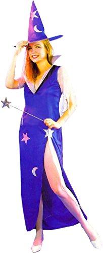 Disfraz para disfraz de carnaval para adulto con hada azul
