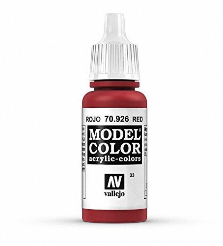 Vallejo Modèle Couleur 17 ml Arylic Peinture – Rouge