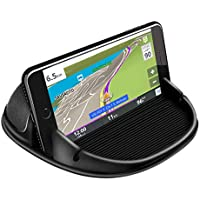 Loncaster Dashboard Silicone Mount for Phones, GPS & More