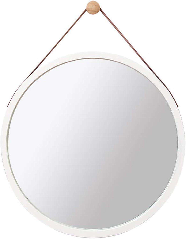 Hd Dressing Mirror Wall Hanging Mirror Wall Hanging Mirror Floor Mirror Simple Bedroom Home European Bathroom Mirror 38Cm